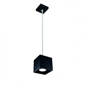 Lampy-sufitowe - lampa sufitowa wisząca w kolorze czarnym 40w algo gu10 pl-b 27036 kanlux