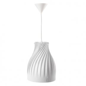 Lampy-sufitowe - nowoczesna lampa sufitowa biała 60w e27 cordes 25530 kanlux