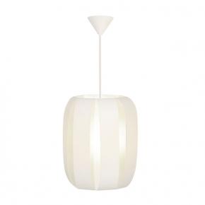 Lampy-sufitowe - lampa wisząca sufitowa biała o mocy 60w e27 cydea p 25552 kanlux
