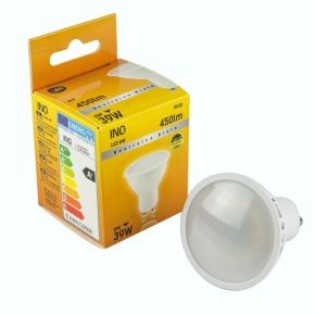 Gwint-trzonek-gu10 - żarówka led6 halogen neutralna biała gu10 6w-39w 450lm 120st 4000k lr034nw inq