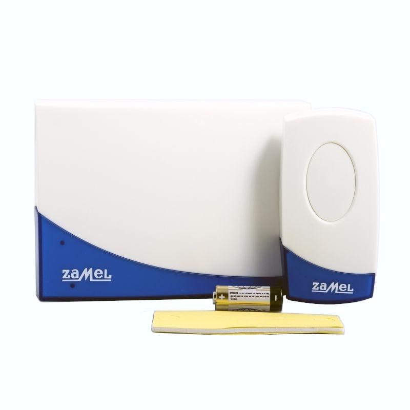 Dzwonki-do-drzwi-bezprzewodowe - bezprzewodowy dzwonek do drzwi zamel suita st-919 - zasięg 80m firmy ZAMEL