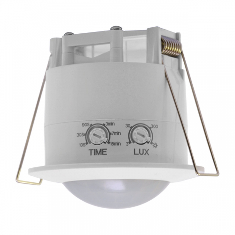 Czujniki-ruchu - sufitowy czujnik ruchu oko pir biały 03694 ideus firmy IDEUS