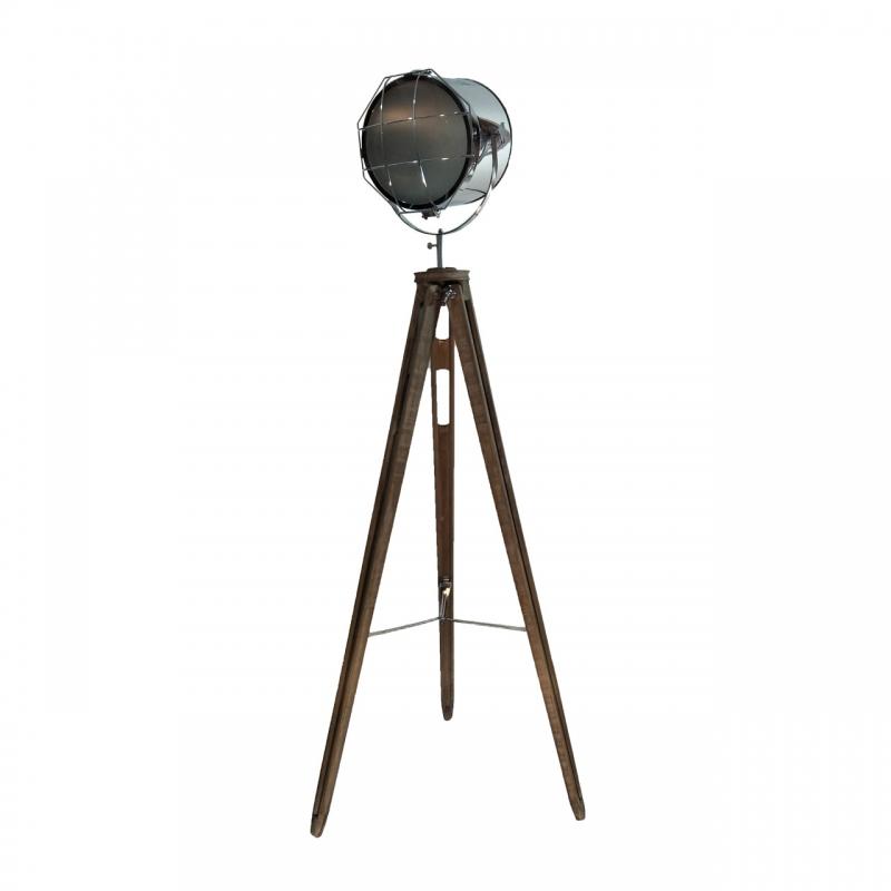 Lampy-stojace - lampa stojąca do salonu margo chrom vo0885 volteno firmy VOLTENO
