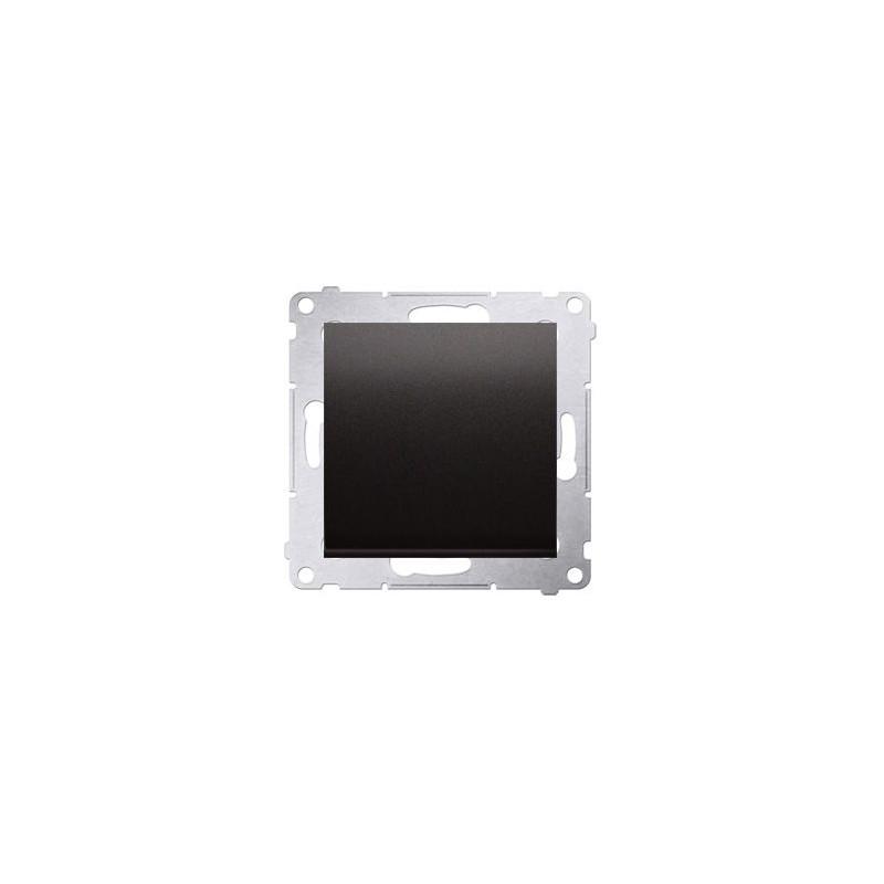 Wylaczniki-jednobiegunowe - przycisk pojedynczy zwierny antracyt dp1.01/48 simon 54 kontakt-simon firmy Kontakt-Simon