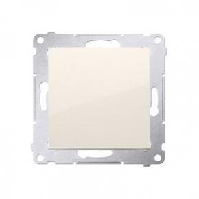Wylaczniki-jednobiegunowe - przycisk pojedynczy zwierny kremowy dp1a.01/41 simon 54 kontakt-simon