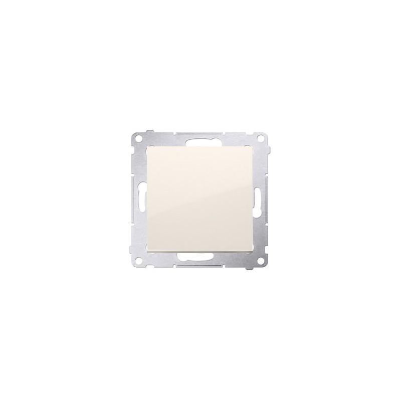 Wylaczniki-jednobiegunowe - przycisk pojedynczy zwierny kremowy dp1a.01/41 simon 54 kontakt-simon firmy Kontakt-Simon