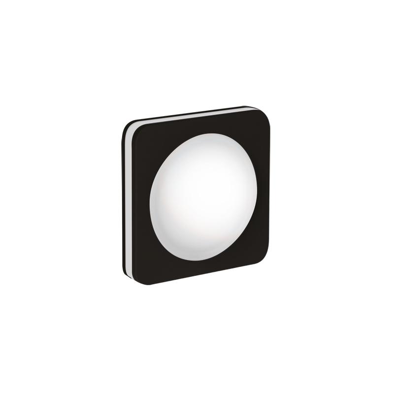 Oprawy-sufitowe - oprawa sufitowa led czarna kwadrat 5w 4000k goti led c ideus firmy IDEUS - STRUHM