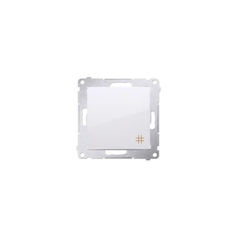 Wylaczniki-krzyzowe - włącznik krzyżowy biały dw7a.01/11 simon 54 kontakt-simon firmy Kontakt-Simon