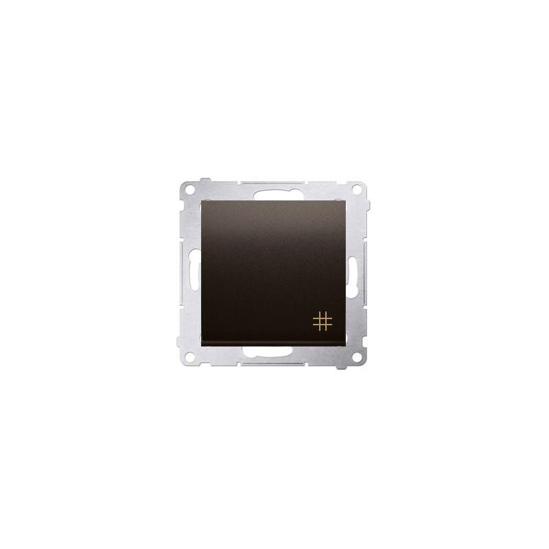 Wylaczniki-krzyzowe - włącznik krzyżowy brązowy dw7a.01/46 simon 54 kontakt-simon firmy Kontakt-Simon