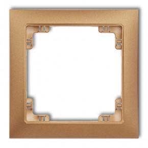 Złota metaliczna ramka...
