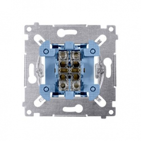 Mechanizm przycisku podwójnego zwiernego dwuobwodowego SP2M Simon 54 Kontakt-Simon