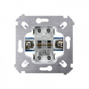 Wylaczniki-schodowe - mechanizm włącznika schodowego podwójnego sw6/2m simon 54 kontakt-simon