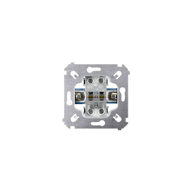 Wylaczniki-schodowe - mechanizm włącznika schodowego podwójnego sw6/2m simon 54 kontakt-simon firmy Kontakt-Simon