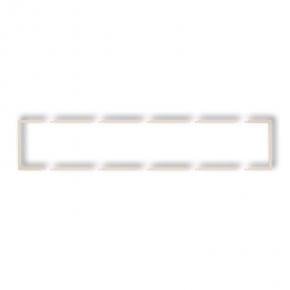 Pięciokrotna wypełniająca ramka beżowa 1DRW-5 DECO KARLIK