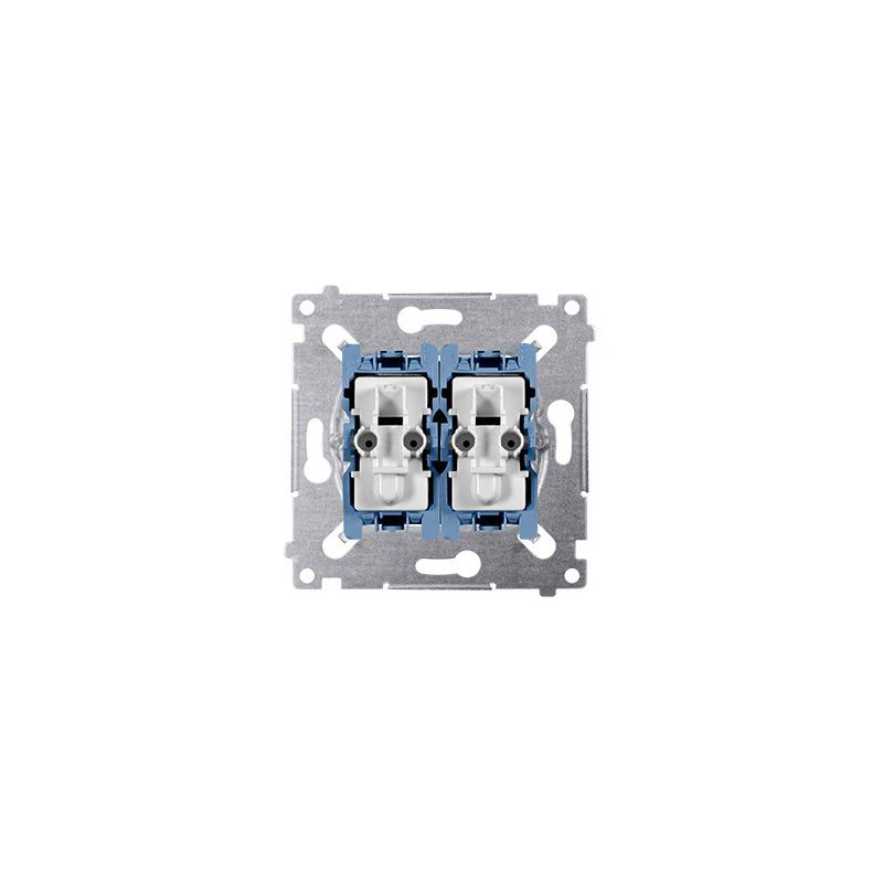 Wylaczniki-schodowe - mechanizm włącznika schodowego i przycisk zwierny sw6p1m simon 54 kontakt-simon firmy Kontakt-Simon