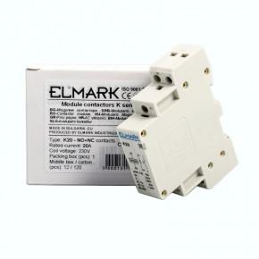 Styczniki - stycznik  elmark k20 20a 230v no+ nc 23007