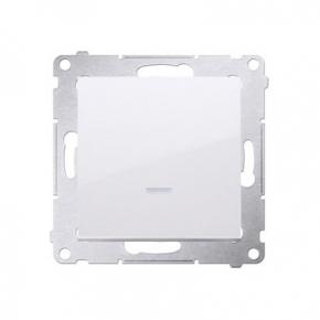 Wylaczniki-jednobiegunowe - włącznik jednobiegunowy biały dw1al.01/11 simon 54 kontakt-simon