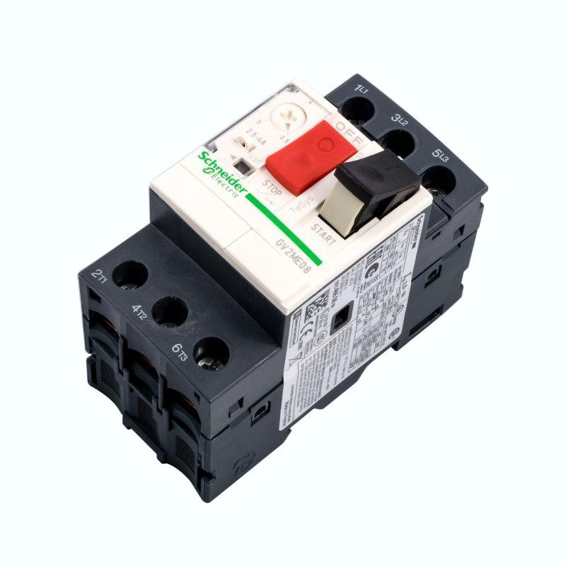 Wylaczniki-silnikowe - gv2me08 2.5-4.0a wyłącznik silnikowy 3p 1.5 kw schneider electric firmy Schneider Electric
