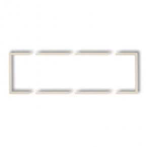 Osprzet-produkty-uzupelniajace - potrójna beżowa ramka wypełniająca 1drw-3 deco karlik