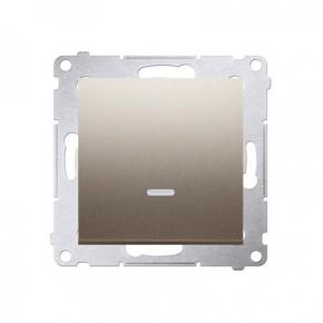 Wylaczniki-jednobiegunowe - włącznik jednobiegunowy złoty dw1al.01/44 simon 54 kontakt-simon