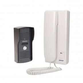 Domofony - zestaw domofonowy do domu jednorodzinnego wandaloodporny ensis orno