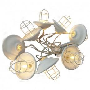 Lampy-ogrodowe-wiszace - girlanda led wewnętrzna na baterie w loftowym stylu 2xaa 1,5v 2,1m led loft 312877 polux