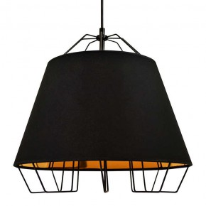 Lampy-sufitowe - żyrandol w kolorze czarnym e27 20w il mio falun 307262 polux
