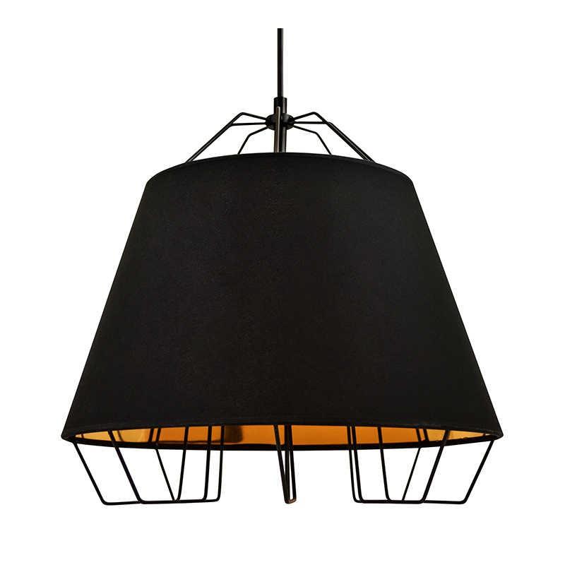 Lampy-sufitowe - żyrandol w kolorze czarnym e27 20w il mio falun 307262 polux firmy POLUX