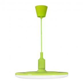 Lampy-sufitowe - lampa sufitowa led w kolorze zielonym 15w 3000k e27 kiki 15 308139 polux