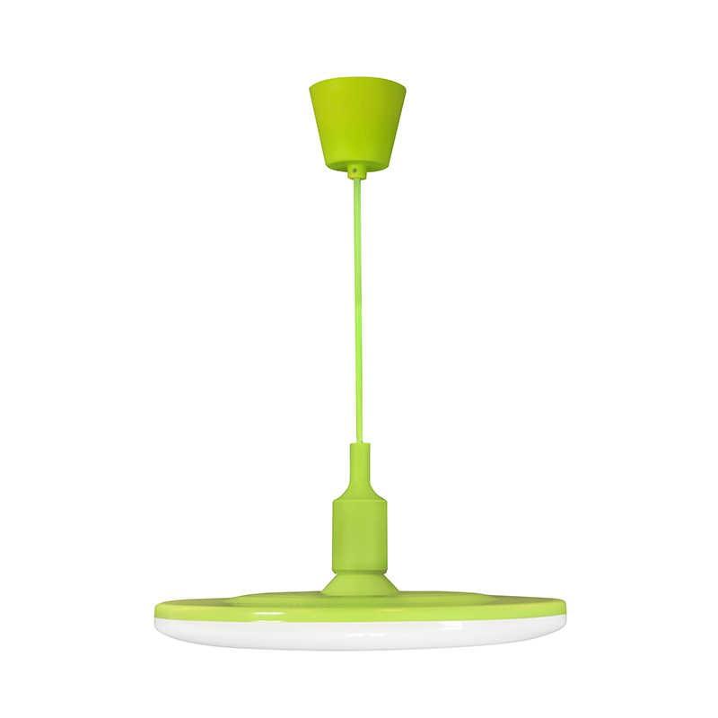 Lampy-sufitowe - lampa sufitowa led w kolorze zielonym 15w 3000k e27 kiki 15 308139 polux firmy POLUX