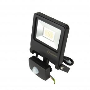 Naswietlacze-z-czujnikiem-ruchu - naświetlacz led z czujnikiem ruchu 20w floodlight value led 1700lm 4000k neutralny 110° ip65 czarny ledvance