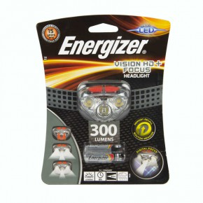 Latarki-czolowe - latarka czołowa led na baterie 3xaaa 85m 300lm vision hd hdd321 energizer