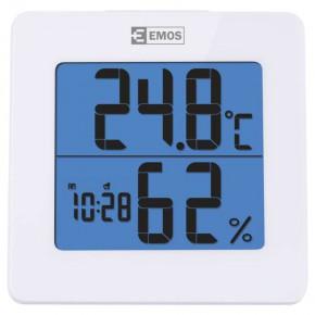 Termometry-i-stacje-pogodowe - termometr bezprzewodowy z wyświetlaczem i funkcją budzika+higrometr e0114 emos