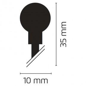 Oswietlenie-choinkowe - lampki choinkowe kulki 10m zimny biały 200xled 12w ip20 zyk0207 emos