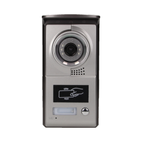 Wideodomofony - zestaw wideodomofonowy z czytnikiem breloków charon bax 7 vdp-40 orno