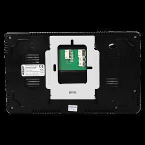 Wideodomofony - zestaw wideodomofonowy z szyfratorem crux 7 czarny or-vid-vp-1049/b orno