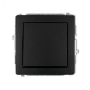 Włącznik czarny mat jednobiegunowy 12DWP-1 DECO KARLIK