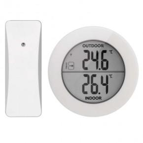 Termometry-i-stacje-pogodowe - termometr bezprzewodowy okrągły e0129 emos