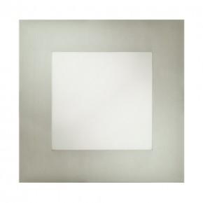 Oprawy-sufitowe - kwadratowa oprawa dekoracyjna wpuszczana chrom smd led milton led d 12w 5700k 02127 ideus