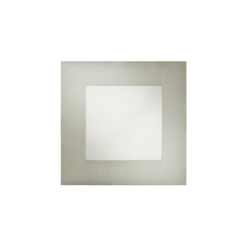 Oprawy-sufitowe - kwadratowa oprawa dekoracyjna wpuszczana chrom smd led milton led d 12w 5700k 02127 ideus firmy IDEUS - STRUHM