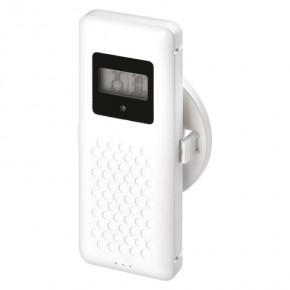 Termometry-i-stacje-pogodowe - stacja meteorologiczna bezprzewodowa na baterie 60m biały e8825 emos