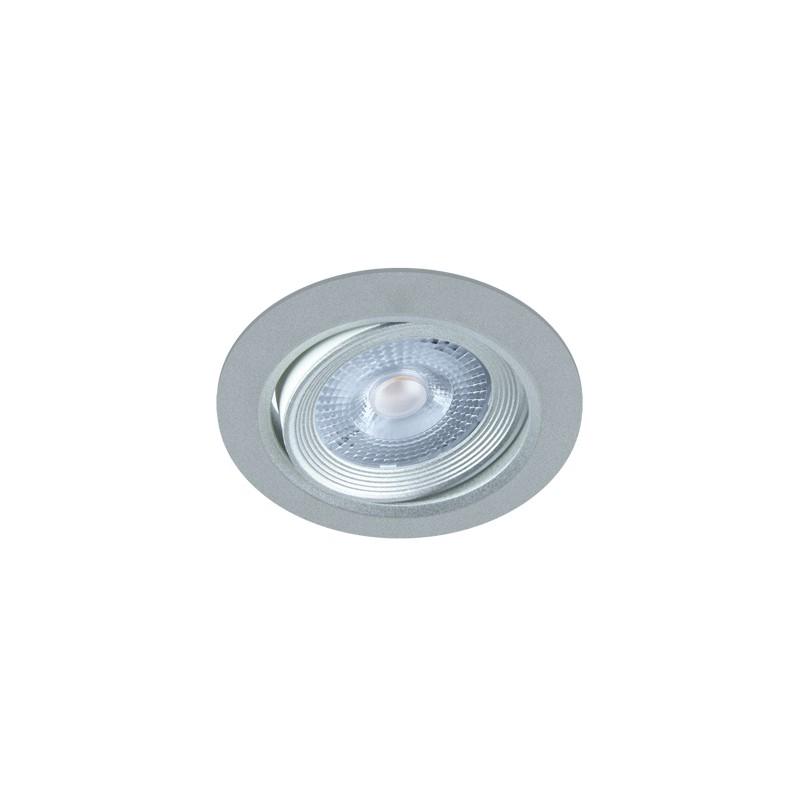 Oprawy-sufitowe - punktowa oprawa sufitowa srebrana smd led moni led c 5w 3000k 03227 ideus firmy IDEUS