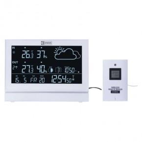 Termometry-i-stacje-pogodowe - stacja meteorologiczna w kolorze białym na baterie e5005 emos