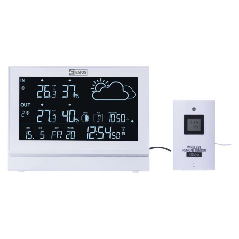 Termometry-i-stacje-pogodowe - stacja pogodowa e5005 emos - 2606155000 firmy EMOS