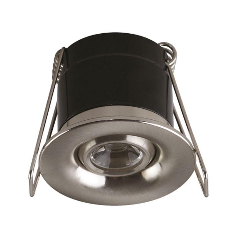 Oprawy-sufitowe - punktowa oprawa sufitowa power led silvia led 1w matchr ideus firmy IDEUS - STRUHM