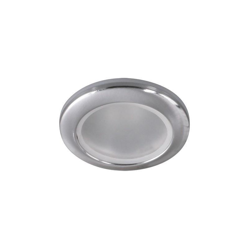 Oswietlenie-sufitowe - szczelna oprawa sufitowa do łazienki chromowana  gu10 viki c 03181 chrome firmy IDEUS - STRUHM