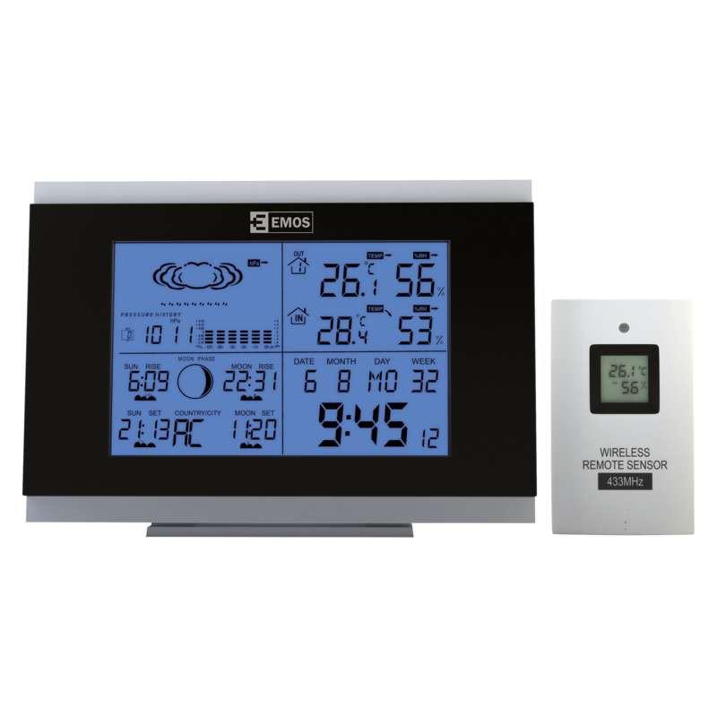 Termometry-i-stacje-pogodowe - stacja pogodowa aok-5018b emos - 2606126000 firmy EMOS