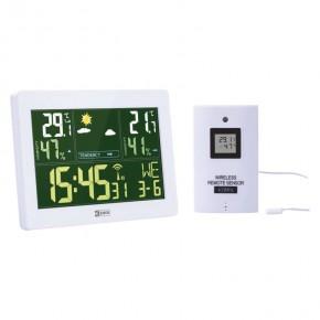 Termometry-i-stacje-pogodowe - stacja pogodowa biała bezprzewodowa z czujnikiem 50m e5062 emos