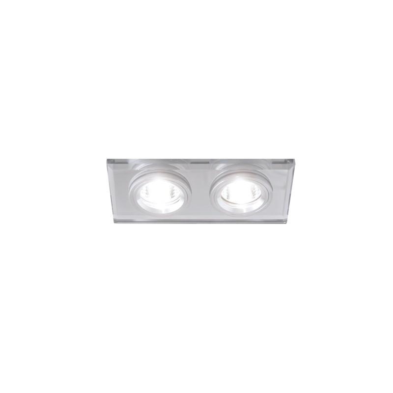 Oprawy-sufitowe - podwójna oprawa sufitowa podtynkowa stan l chrome 03095 ideus firmy IDEUS - STRUHM