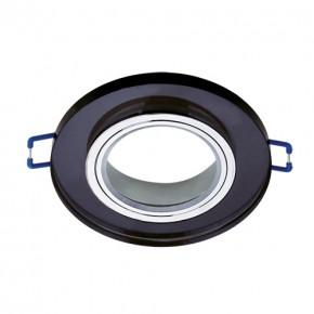 Oprawy-sufitowe - podtynkowy pierścień ozdobny selena c black 03599 ideus